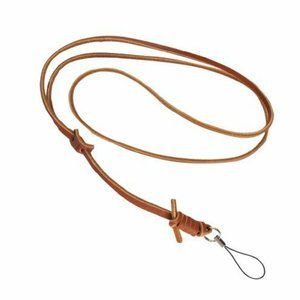 NEW Tan Leather Camera Hand Strap - Made in Korea